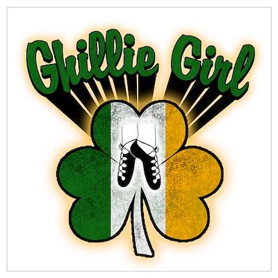 Ghillie Girl Poster