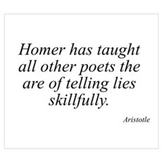 Aristotle quote 31 Poster