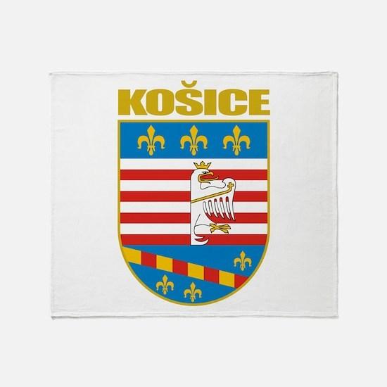Kosice COA Throw Blanket