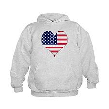 U.S.A. Heart Hoodie