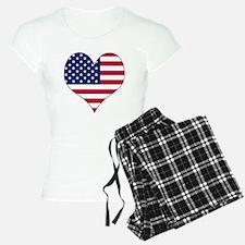 U.S.A. Heart Pajamas