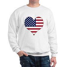 U.S.A. Heart Sweatshirt