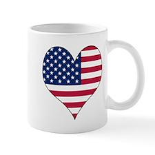 U.S.A. Heart Mug