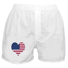 U.S.A. Heart Boxer Shorts