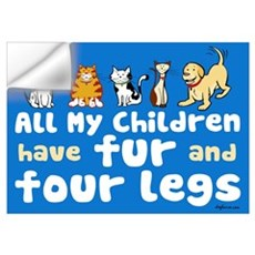All My Fur Children Wall Decal