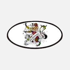 Buchanan Tartan Lion Patches