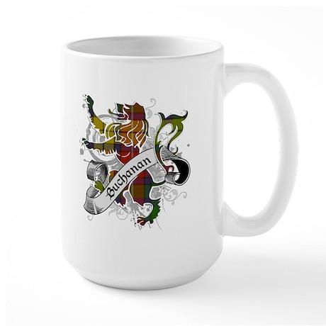 Buchanan Tartan Lion Large Mug