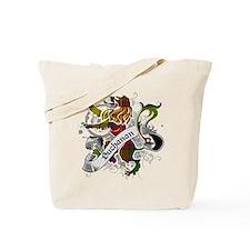 Buchanan Tartan Lion Tote Bag