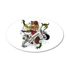 Buchanan Tartan Lion Wall Decal