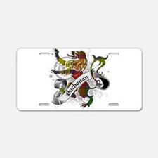 Buchanan Tartan Lion Aluminum License Plate