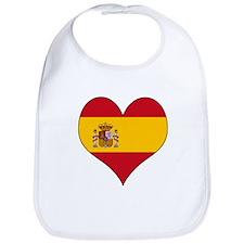 Spain Heart Bib