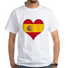 Spain Heart Shirt