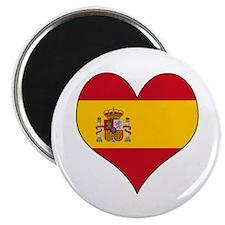 Spain Heart Magnet