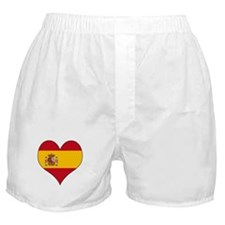 Spain Heart Boxer Shorts