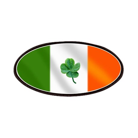 Irish Flag Patches