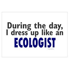 Dress Up Like An Ecologist Canvas Art