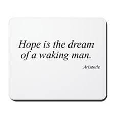 Aristotle quote 33 Mousepad