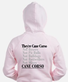 They're Cane Corso Zip Hoodie