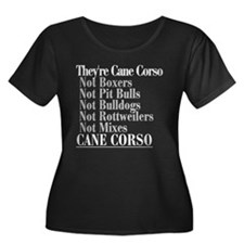 They're Cane Corso T