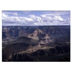 Grand Canyon in shadows Poster