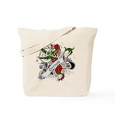Burnett Tartan Lion Tote Bag