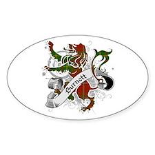 Burnett Tartan Lion Decal