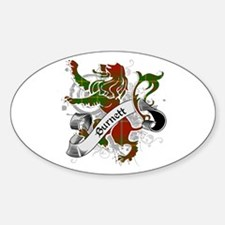 Burnett Tartan Lion Decal