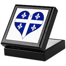 Quebec Heart Keepsake Box