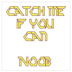 Catch Me Noob Poster