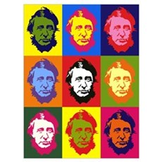 Small Mutli-Thoreau Framed Print