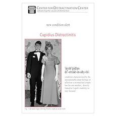 Cupidius Distractinitis 11 x 17 print Poster
