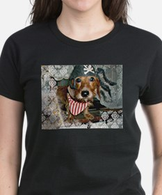 Puppy in Pirate Costume Tee