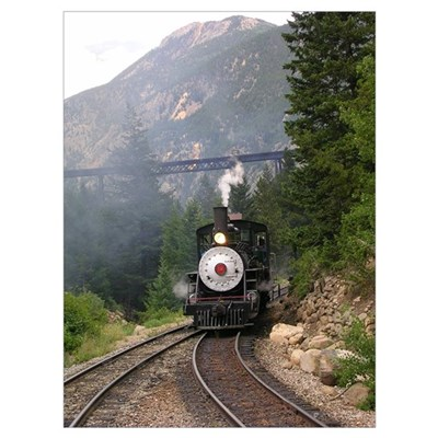 Georgetown Colorado Railroad Poster
