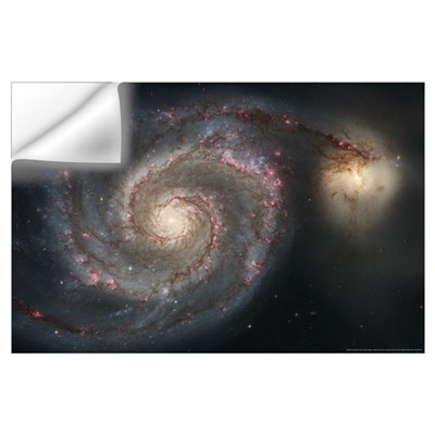 Whirlpool Galaxy Wall Decal