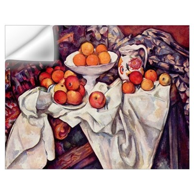 Still Life with Apples and Or Wall Decal