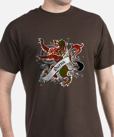 Burns Tartan Lion T-Shirt