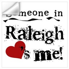 Raleigh Loves Me Wall Decal