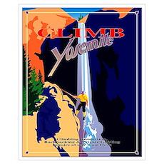 Climb Yosemite Poster
