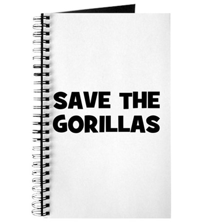 Save The Gorillas Journal