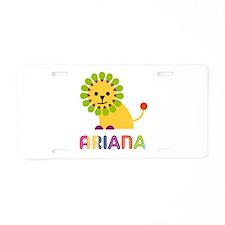 Ariana the Lion Aluminum License Plate
