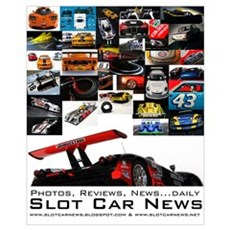 Slot Car News Poster