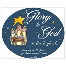 Glory to God Poster