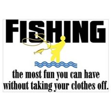 Fishing Fun Poster