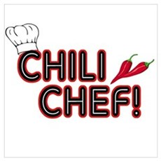 Chili Chef Framed Print