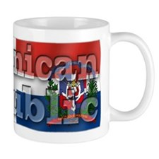 Silky Flag Dominican Republic Small Mug