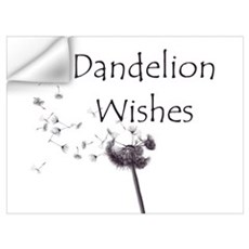 Small Dandelion Wall Decal