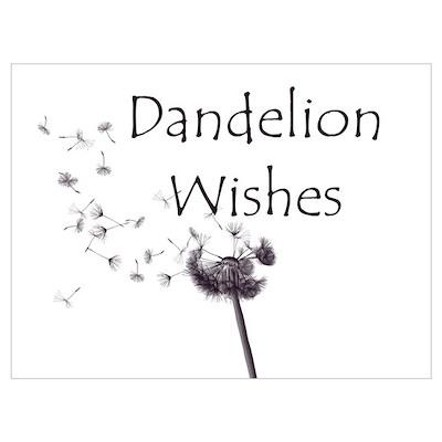 Small Dandelion Poster