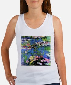 MONET WATERLILLIES Women's Tank Top