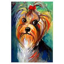 "Yorkshire Terrier #1 11x17"" Print"