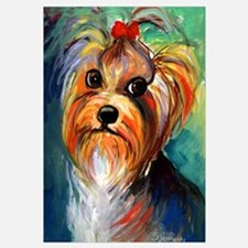 "Yorkshire Terrier #1 11x17"" Print"